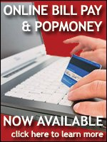 Online bill pay & POPmoney now available